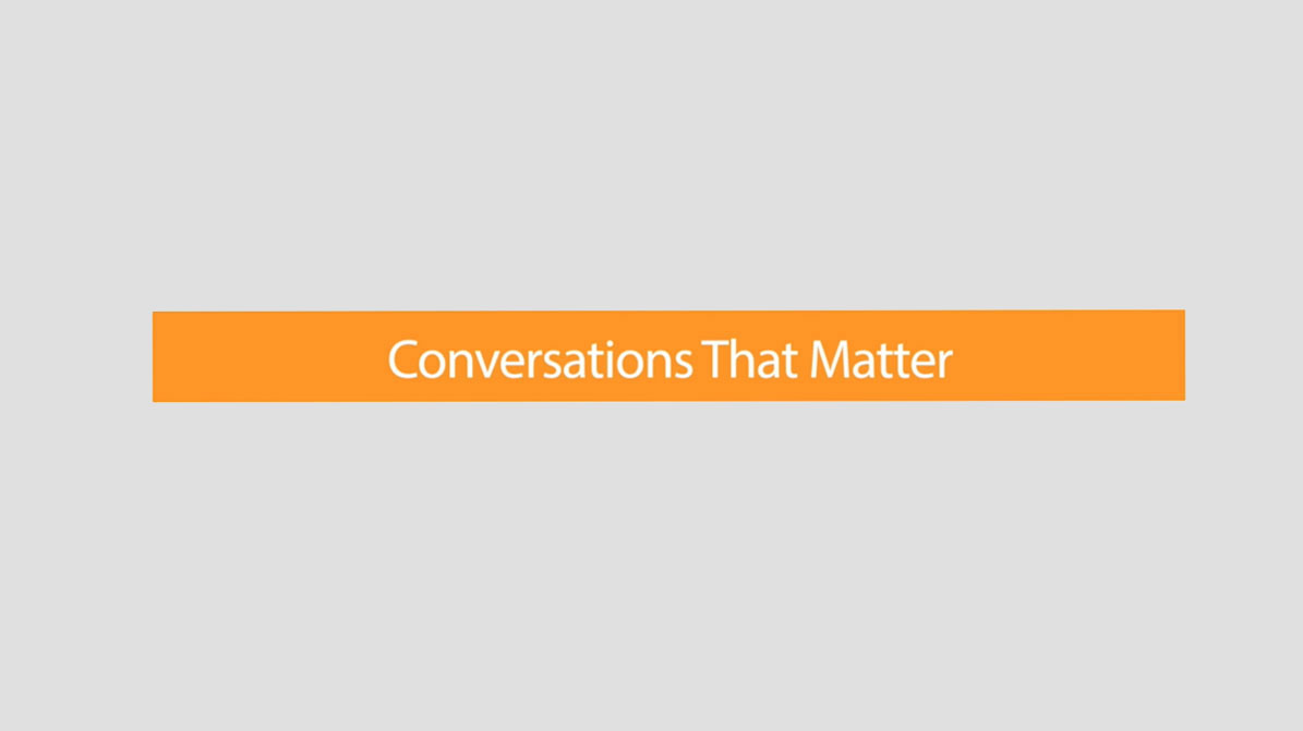 Conversations that Matter - EDEN Film Procuctions