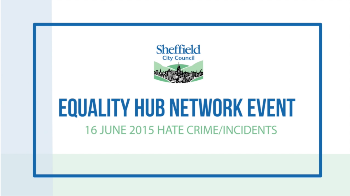 Equality Hub Network – Hate Crime Event
