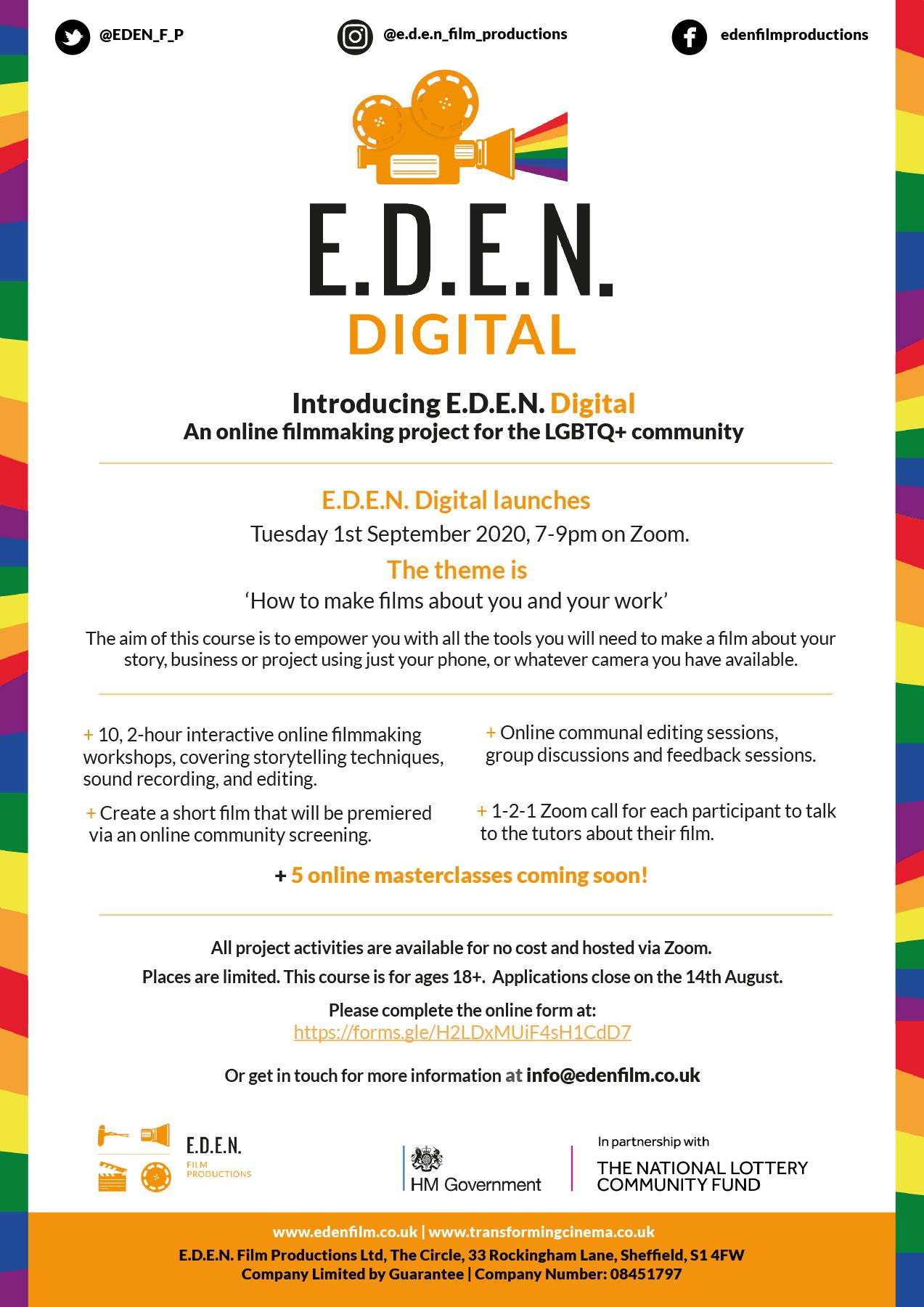 E.D.E.N. Digital – Register your interest
